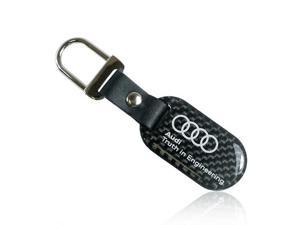 Audi Carbon Fiber Key Chain