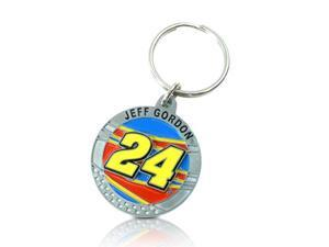 NASCAR Jeff Gordon No. 24 Key Ring Key Chain