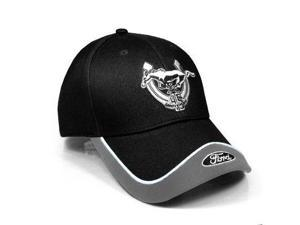 Ford Mustang 45th Anniversary Logo Black & Grey Hat