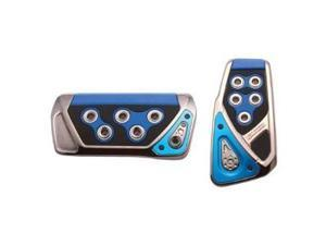 RAZO RP103BL Blue Automatic Pedal Covers