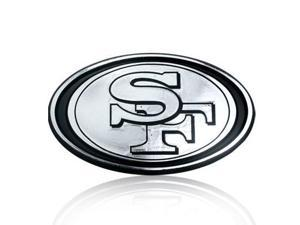 NFL San Francisco 49ers Chrome Car Emblem