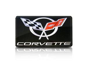 Corvette C5 Emblem Enhancer Gel Black, Single