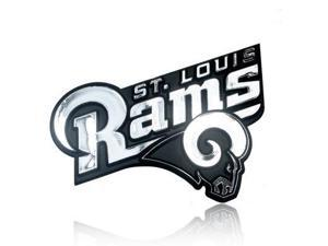NFL St. Louis Rams 3D Chrome Car Emblem