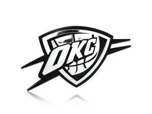 NBA Oklahoma Thunder 3D Chrome Auto Emblem