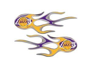 NBA Los Angeles Lakers Micro Flame Auto Emblems