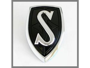 Nissan 240SX Silvia Black S Hood Emblem