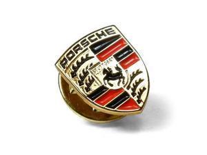 Porsche Crest Logo Metal Badge