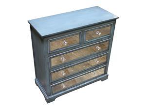 Vintage Hallway Furniture with 5 drawers - Benzara