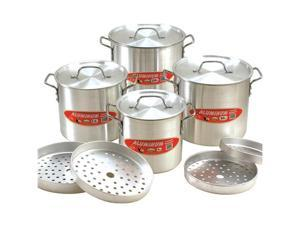 Cook N Home 12-Piece Aluminum Tamale Steamer Set