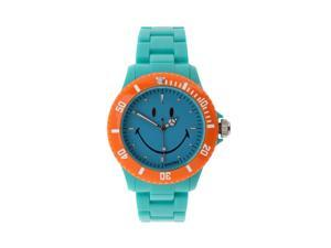 "Wave Gear Smiley ""Happy Time"" Color Block Men's Analogue Watch"