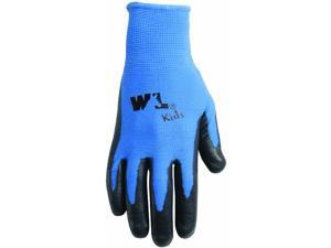 Wally The Wasp Nitrile Palm Coated Jersey Kid's Gloves