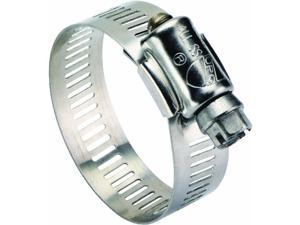 """7/16"""" - 1"""" Stainless Steel Clamp 6308053 Pack of 10"""