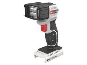 Rechargeable Flashlight, Black/Gray, LED PCC700B