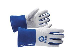 Miller Electric Welding Gloves, MIG, Lined, S, Womens, PR 263331