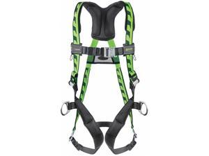AirCore  Full Body Harness with 400 lb. Weight Capacity, Green, 2XL/3XL