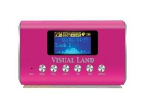 Visual Land ME909BLK Flash MP3 Player - Black