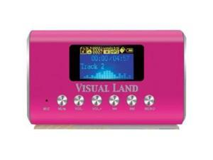 Visual Land ME909PNK Flash MP3 Player - Pink