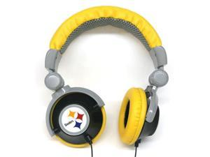 NFL Team Logo DJ Headphone - Pittsburgh Steelers