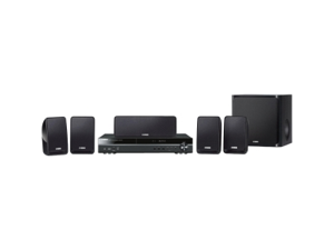 Yamaha BDX-610 5.1 3D Home Theater System - 180 W RMS - Blu-ray Disc Player