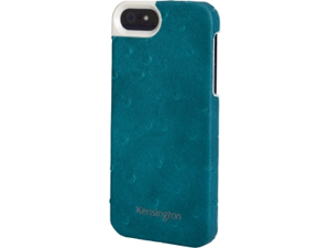 Kensington Vesto Teal Solid Leather Texture Case for iPhone 5 K39626WW