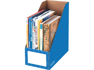 "Bankers Box 6"" Magazine File Holders 6 PK/CT"