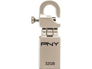 PNY Hook Attaché 32GB Flash Drive