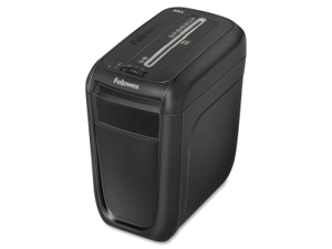 Fellowes Powershred 60Cs Light-Duty Cross-Cut Shredder, 10 Sheet Capacity