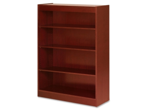 Lorell Four Shelf Panel Bookcase 1 EA