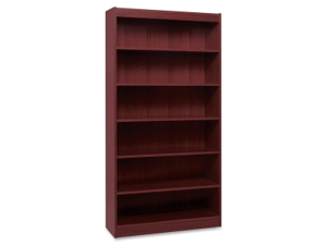Lorell Panel End Hardwood Veneer Bookcase 1 EA