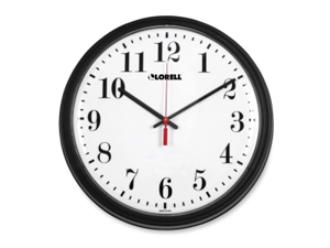 Lorell 60989 Wall Clock Analog - Quartz