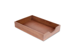 Carver Hedburg Genuine Walnut Desk Tray 1 EA