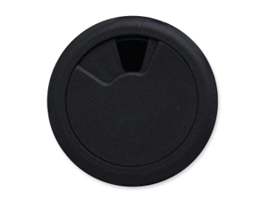 None Adjustable Grommet, 2-3/8 Diameter, Black MAS00202