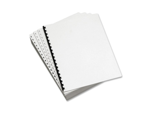 Domtar Custom Cut Punched Paper