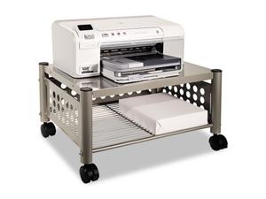 Vertiflex Underdesk Machine Stand, 1-Shelf, 21-1/2w x 17-7/8d x 11-1/2h, Matte Gray