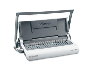 Fellowes Star+ 150 Manual Comb Binding Machine