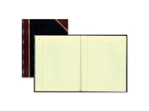"Rediform 58400 Record Book 1 EA 300 Sheet(s) - Thread Sewn - 14.25"" x 11.25"" Sheet Size - Green - 1 Each"