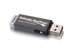 Kanguru Defender DualTrust 8GB Flash Drive