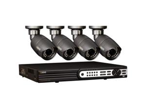 Q-see QT704-480-1 8 Channel HD SDI DVR w/1TB HDD, 4 x 1080P Night Vision Cameras
