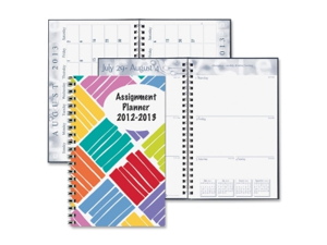 House of Doolittle Student Assignment Planner 12 EA/PK