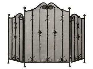 Iron Fireplace Screen - OEM