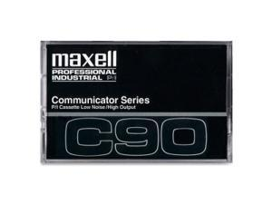 Maxell 90 Minutes Communicator Series Audio Cassette 10 EA/BX