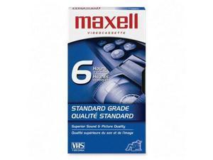 Maxell Standard VHS Videocassette 10 EA/BX