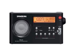 Sangean PR-D7 Desktop Clock Radio