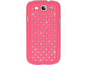 AMZER Hot Pink Diamond Lattice Snap On Shell Case AMZ94254