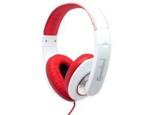 SYBA Red/White CL-AUD63080 Binaural Headphone