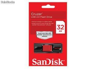 Sandisk 32gb Cruzer USB 2.0 Flash Pen Drive (RETAIL)