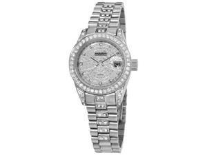 Akribos XXIV Women's Diamond Quartz Bracelet Watch