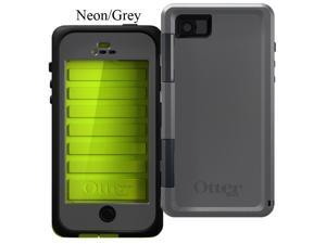 OtterBox Armor Series Waterproof Case For iPhone 5/5S - Neon/Grey 77-27521