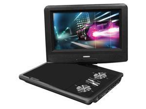 """Impecca - Impecca 7"""" Portable 270° Swivel DVD Player (Black)"""