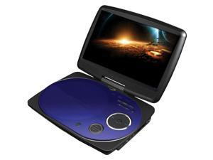 """Impecca - Impecca 9"""" Portable Swivel Dvd Player/Usb (Blue)"""